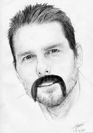 19 famous fan drawings with mustaches smosh