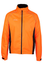 fluorescent cycling jacket adrenaline mens iso viz jacket mountain warehouse gb
