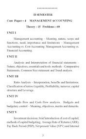 objectives of financial statement analysis university of madras bba syllabus 2017 2018 student forum for any query you may contact to the madras university the contact details are given below