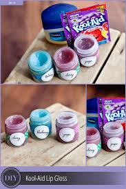 diy kool aid lip gloss