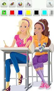 barbie coloring book games coloring games free kids kid