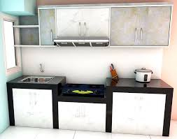 Model Kitchen Gambar Model Kitchen Set Mini Keren Dapur Minimalis Idaman