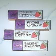obat perangsang permen karet chewing gum