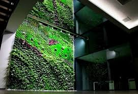 6 luscious living vertical gardens bring a breath of fresh air