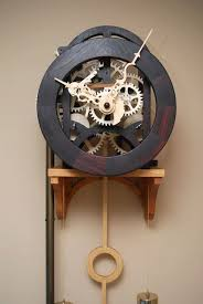 Wooden Clock Plans Free Download by Best 25 Wooden Gears Ideas On Pinterest Wooden Gear Clock