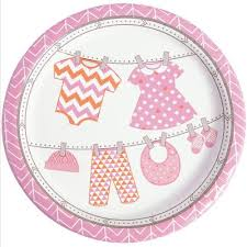 pink baby shower baby shower supplies trading