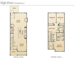 Narrow Lot 4 Bedroom House Plans Interesting Inspiration Modern House Plans For Narrow Lots 12