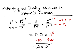 multiplying and dividing scientific notation worksheet tuf technical math chapter 2