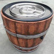 Personalized Fire Pit by Wine Barrel Chat Fire Pit Walmart Com