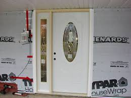 House Doors Exterior by Exceptional Mastercraft Exterior Doors 9 Menards Entry With Side