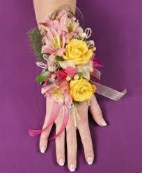 prom corsage pastel potpourri prom corsage in sedalia mo state fair floral