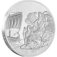 creatures of greek mythology gorgon silver coin nz mint