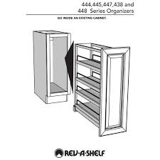 home depot kitchen cabinet organizers rev a shelf 5 in kitchen pull out tray divider cabinet
