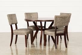 cheap 5 piece dining room sets macie 5 piece round dining set living spaces