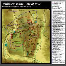 Jerusalem World Map by Bible Map Jerusalem In Jesus U0027 Time Catholic Pinterest