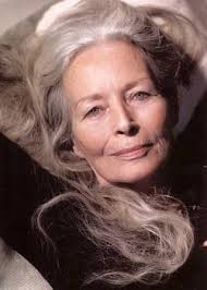 perms for older grey hair women i m going to wear my hair long and grey white when i m old with