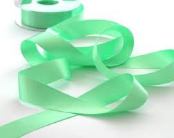 mint green ribbon mint ribbon etsy