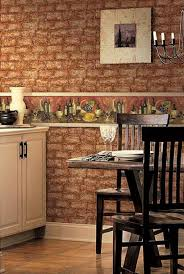 accessories heavenly kitchen brick wallpaper inspiration red