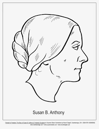 susan b anthony coloring page printable pictures 2700