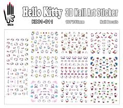 online buy wholesale 3d nail art hello kitty from china 3d nail