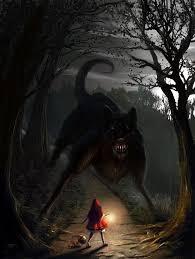 big bad wolf by edli on deviantart