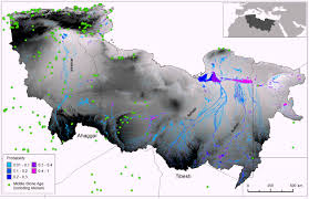 Rivers In Africa Map by Three Ancient Rivers Existed In Sahara 100 000 Years Ago