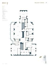London Terrace Towers Floor Plans by Walker Tower Penthouse 1 Asking 55 Million Ny Walker Tower