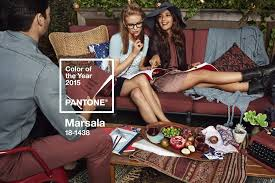 pantone color of the year for 2015 marsala la times