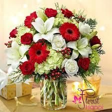christmas floral arrangements floral arrangement