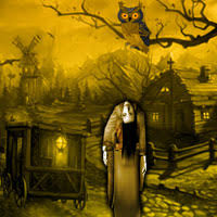 play haunted halloween village escape at wowescape com enjoy to play