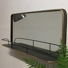 industrial mirrors gallery of rivet and wood industrial style