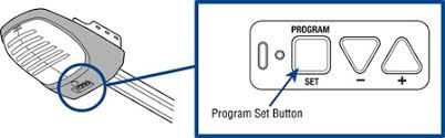 Overhead Garage Door Opener Programming How To How To Place A Garage Door Opener Into Program Mode For