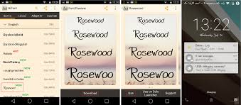 how to change the font on android how to change fonts on android with or without root