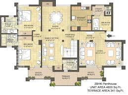Condominium Plans Penthouse Floor Plans Floor Plans Layout Plan Location Map