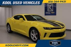 used camaro for sale in michigan used chevrolet camaro for sale in grand rapids mi 6 used camaro