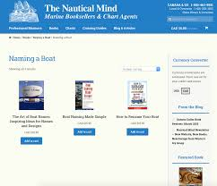 the nautical mind category built with woocommerce built with