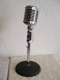 shure 55 sh unidyne microphone