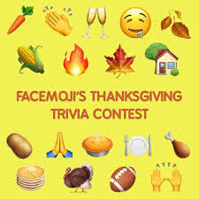 facemoji s thanksgiving trivia contest win 40 restaurant