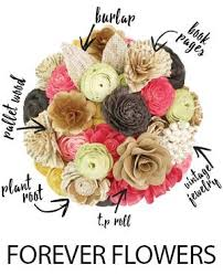 wood flowers about us eco flower