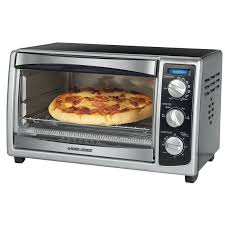 Toaster Oven With Auto Slide Out Rack Black Decker Countertop Convection Toaster Oven U0026 Reviews Wayfair