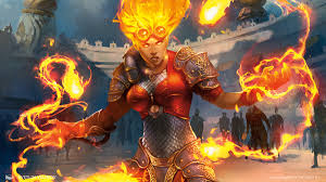 Wildfire Eternal Gatherer by Chandra Nalaar Planeswalkers Magic The Gathering