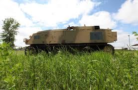 jeep tank military he u0027s steinbach u0027s shermanator winnipeg free press