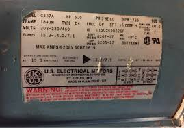 wiring motors high or low voltage electrician talk