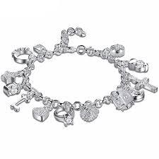 sterling heart bracelet images Life charm pendant heart bracelet 925 sterling silver macbarneys jpg
