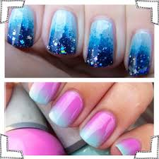 easy ombre nails tutorial partysuppliesnow com au