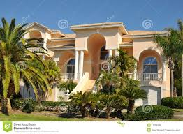 mediterranean home stock images image 710074