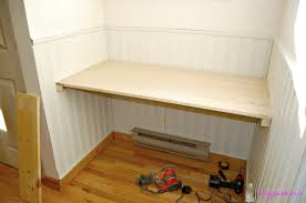 Modern Built In Desk by Diy Built In Desk Plans Diy Do It Your Self