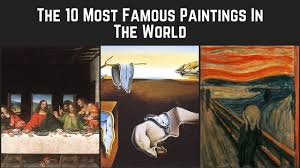 the 10 most famous paintings in the world on vimeo
