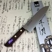 japanese carbon steel kitchen knives masahiro japanese chef kitchen knife carbon steel santoku knife