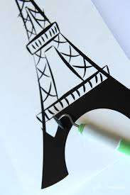 eiffel tower vinyl wallpaper inspired